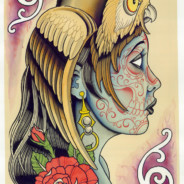Owl Lady Headdress