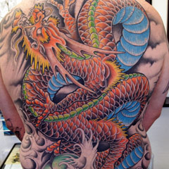 Dragon Full Back Piece