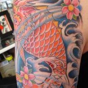 dragon_fish_half_sleeve